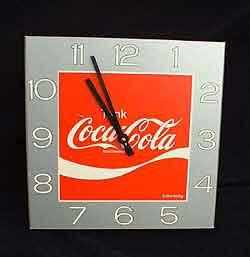 coca cola uhren