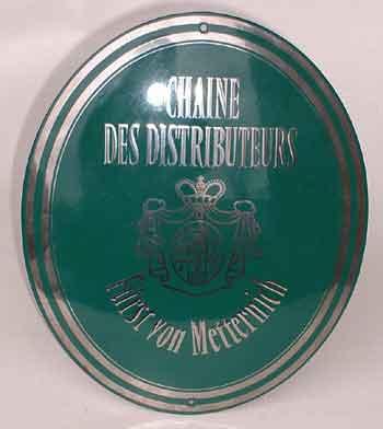 """10,6x7,2 cm Nostalgie Emaille Schild Türschild Email Metallschild /""""Büro/"""""""